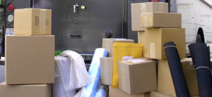 Stacks and Boxes of Packaged Rubber Products