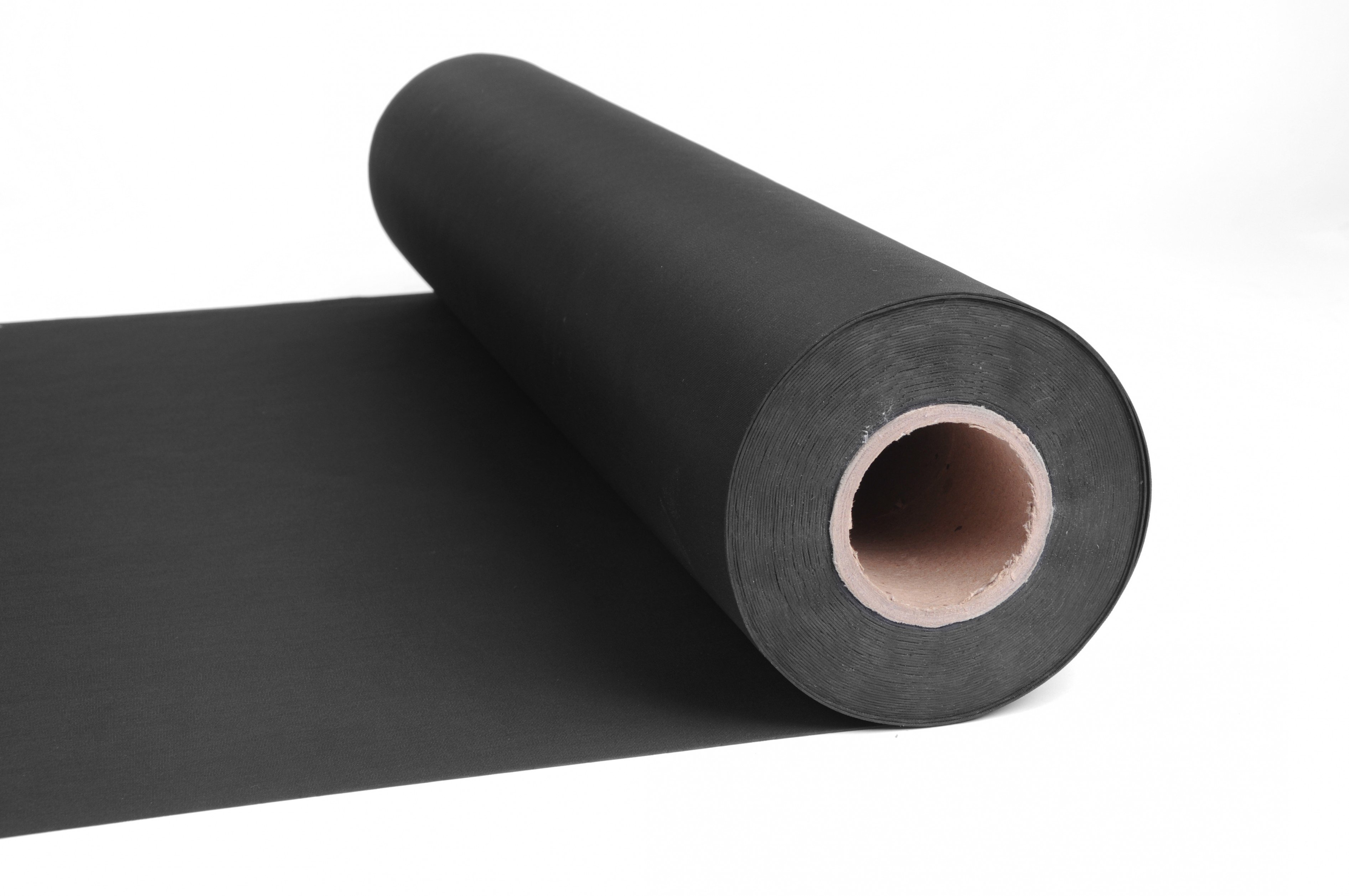 Standard Example of Roll of Black Sheet Rubber