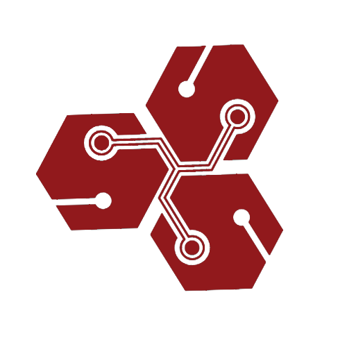 Red Tech Piece Icon Symbolizing Our Custom Formulation Ability
