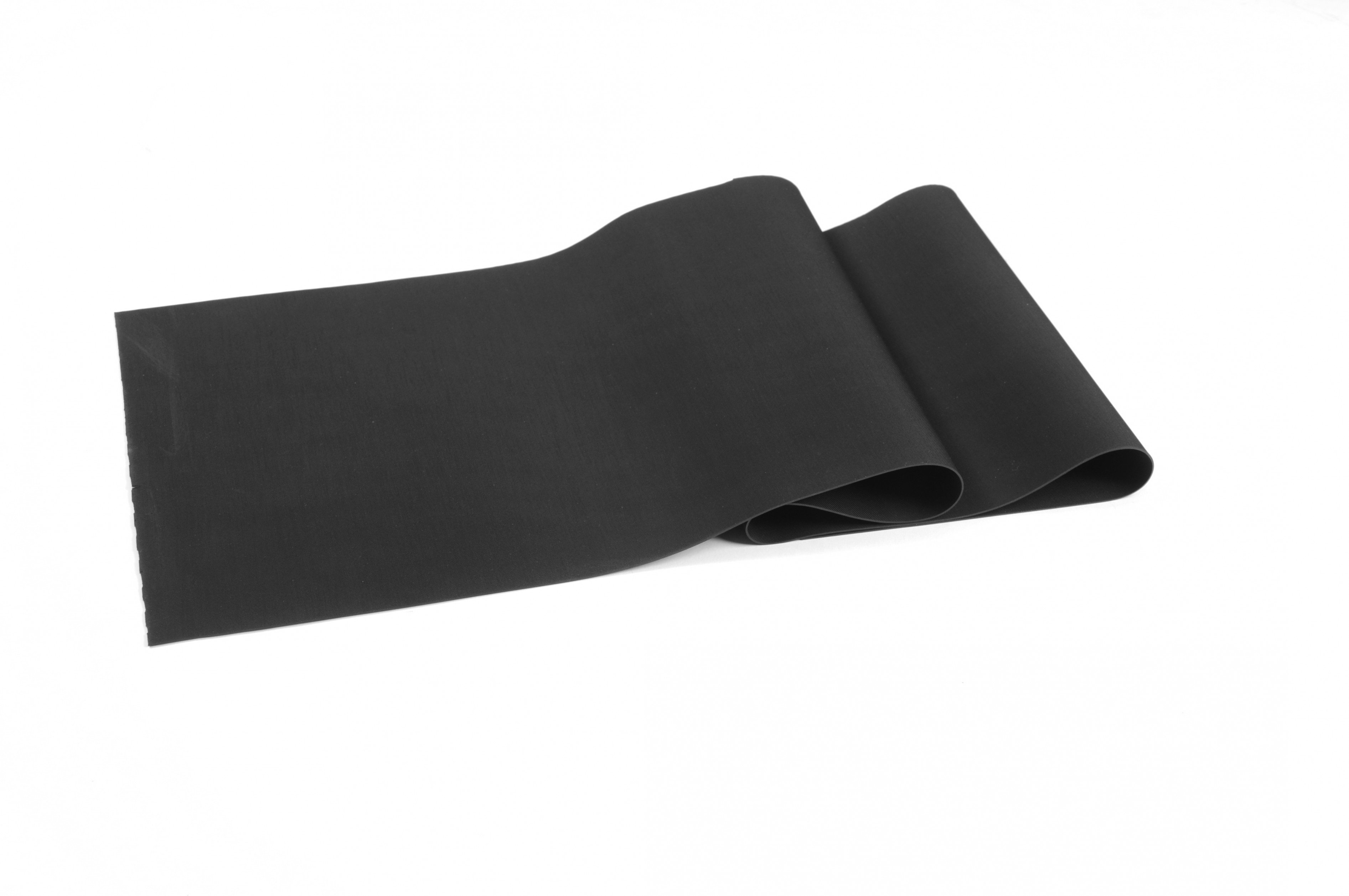 Close up of Black Sheet Rubber Double Folded