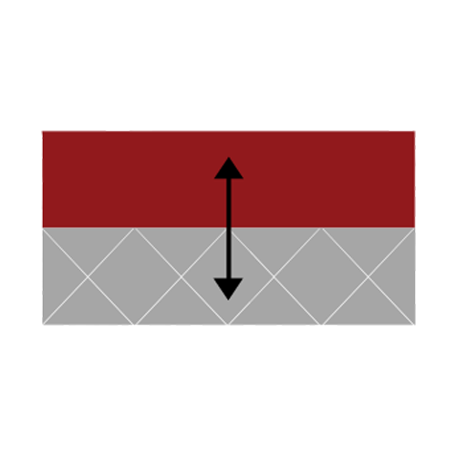 Icon of Red Rubber Bonding to Metal