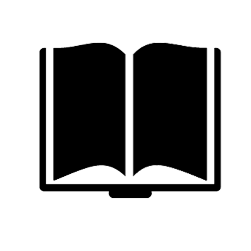 Black Icon of Open Dictionary
